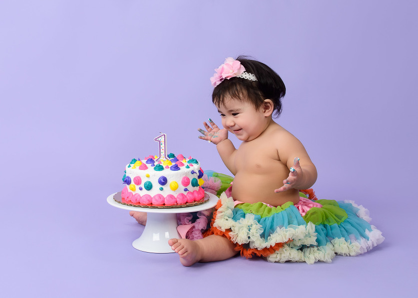Cake Smash Photography from Evan Pollock of Magnolia Moments