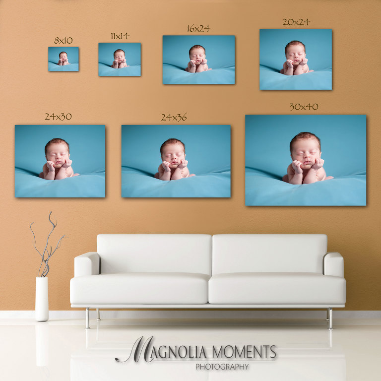 8x10 or 11x14 - Magnolia Moments Photography guide to how to choose the right size print