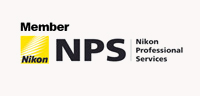 Nikon Professional Services Member Logo - Evan Pollock of Magnolia Moments Photography is an official member of Nikon Professional Services